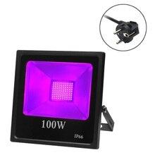 [Seven Neon] Профессиональный ультрафиолетовый IP66 395 нм 100 Вт УФ-вечерние светильник для отверждения клеем бактерицидный светильник стерилизатор для рептилий светодиодная УФ-лампа