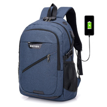 USB Charging Anti-Theft Backpack Laptop Backpack School Bags Male Bag Student Schoolbag 15.6 College Travel Backpack Male