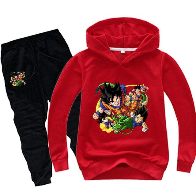 Anime Dragon Ball Sweat Suit 2
