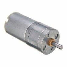 1 шт. электрическая коробка передач мотор 12 В DC 1000 об/мин 4 мм вал с высоким крутящим моментом мини Электрический редуктор ed коробка из металлического сплава двигатели 25*70 мм