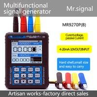 Mr9270p 4-20ma gerador/4-20ma calibração atual tensão sinal de pressão transmissor porta usb recarregável senhor sinal