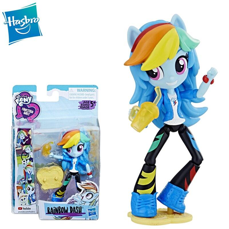 Hasbro My Little Pony Friendship Is Magic Fashion Equestria Girls Rainbow  Dash Twilight Fluttershy Rarity Pinkie Pie Dolls Toy Action Figures-  AliExpress