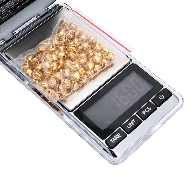 otali.ru Новый мини карманный 100 г x 0,01 г Цифровой алмаз ювелирные изделия золото грамм Баланс Вес весы