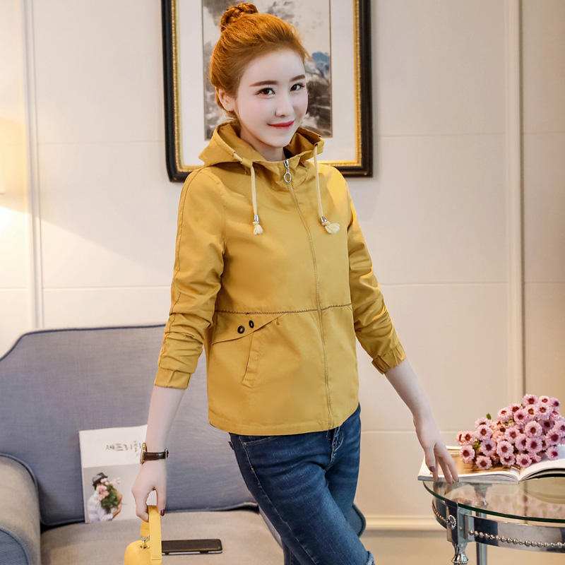 Clearance SaleSmall Jacket Dress Short Baseball-Suit Body-Repair Autumn Korean-Version Student Casual