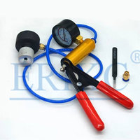 Universal Common Rail CRS Injector Valve Assembly Leaking Tester Tightness Diagnsotic Tool With Vacuum Gauge HNBR Seal O Ring