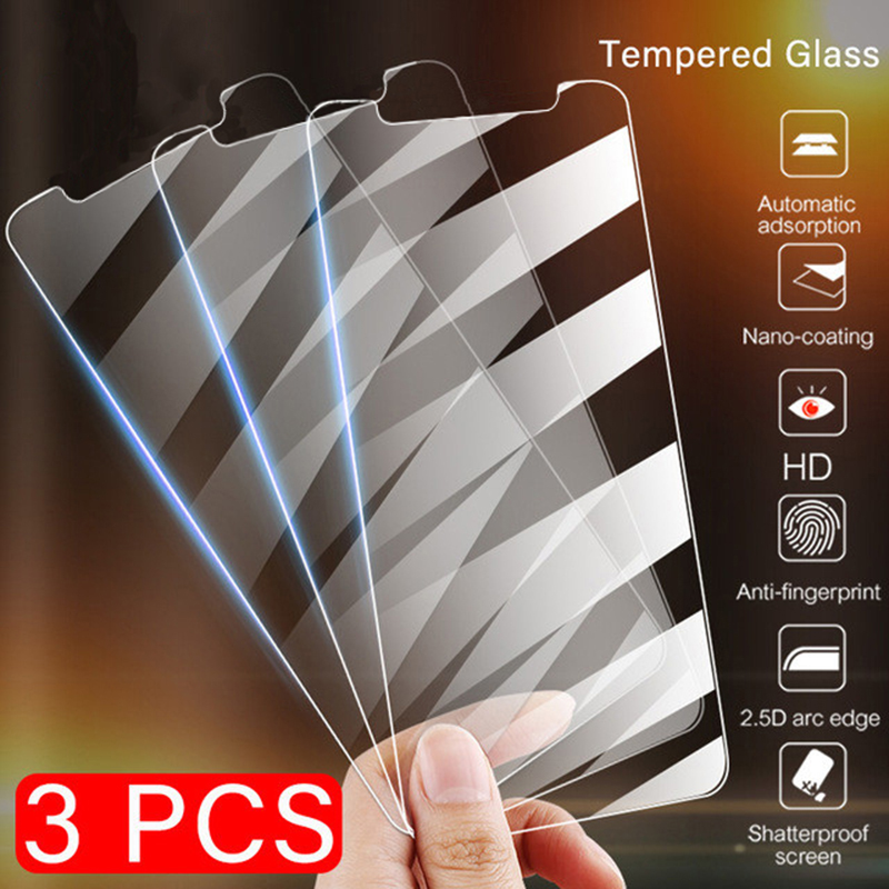 3Pcs For IPhone 11 Pro Tempered Glass For IPhone X XR XS Max Screen Protector Film For Apple IPhone 11 Pro Max Clear Glass Film