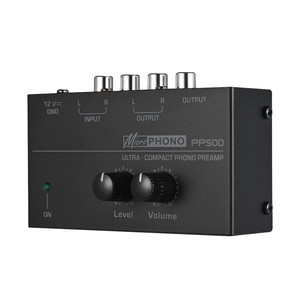 Image 2 - PP500 telefon preamplifikatör fono Preamp bas tiz denge ses tonu EQ kontrol panosu ses Metal Stereo ab tak