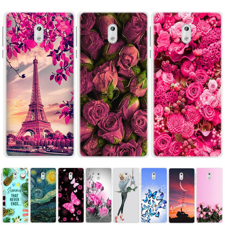 Phone <font><b>Case</b></font> For <font><b>Nokia</b></font> <font><b>3</b></font> <font><b>Case</b></font> Cover Silicone Soft TPU Back Cover Funda For Coque <font><b>Nokia</b></font> <font><b>3</b></font> Nokia3 TA-<font><b>1032</b></font> TA-1020 TA <font><b>1032</b></font> 1020 <font><b>Case</b></font> image