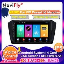 4G LTE Android 10 IPS DSP auto Mutimedia video Für VW Volkswagen PASSAT Magotan B8 WIFI GPS Navigation autoradio