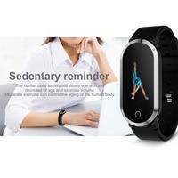 2019 Woman Smart Bracelet Wristband Heart Rate Blood Pressure Fitness Monitor Pedometer Sport Watch