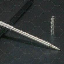 Goldene Knüppel Kreative Rollerball Stift Kupfer Dazzling Metall 0,5mm Feine Punkt Schwarz Tinte Business Geschenk Stifte mit Original Box