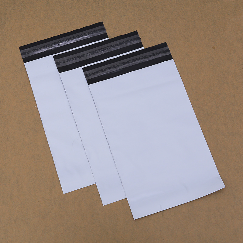 Envelopes Packaging Shipping Bags Plastic 50pcs/lot 20cm*30m Lots Poly Mailing Bags White Express Courier Bag Custom 2020