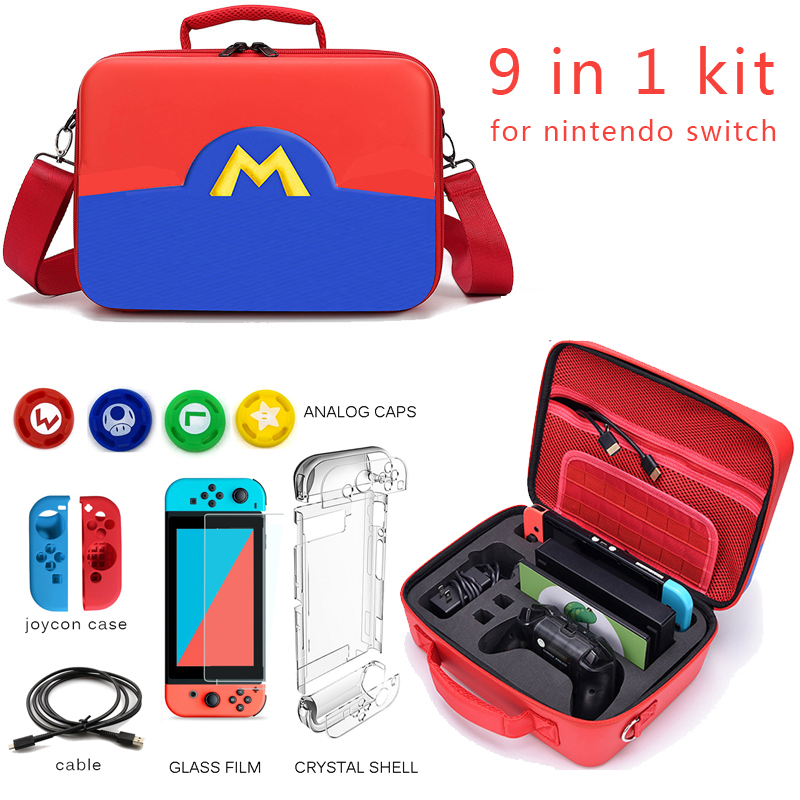 Travel Bag for Nintend Switch Nintendo Switch Game Player Carrying Case for Joy con Console Switch