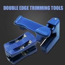 Recortadora de doble filo aplicadora de bandas, juego de herramientas de carpintero de cabeza y cola, de doble filo, herramienta de carpintero para carpintería