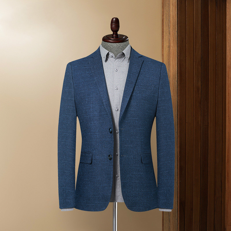 2020 Spring New Korean Trend Men's Casual Blazer Men's Slim Suit Coat Fashionable And High - End Men's Suit  Men Blazer