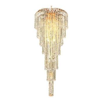 Phube Lighting Bahasa Perancis Emas Pemerintah Lampu Gantung Kristal Kilau Chrome Lampu Gantung Lampu Gantung Modern Lampu Penerangan Gratis Pengiriman