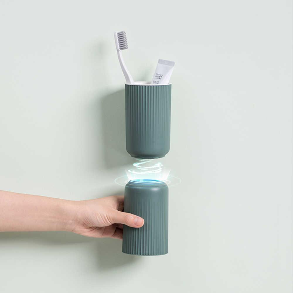 1 مجموعة المغناطيسي الحمام مجموعة شفط كأس فرشاة الأسنان حامل مع غسل كوب معلق جدار السنانير شماعات المطبخ الحمام الاشياء المنزلية