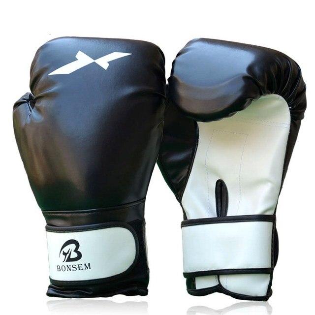2020 New Adult Boxing Gloves Professional Sandbag Liner Gloves Kickboxing Gloves Pugilism Men Women Training Fighting Tool * 2