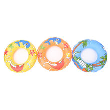 Outdoor Kids Swimming Rings Beach Water Dolphin Starfish Inf