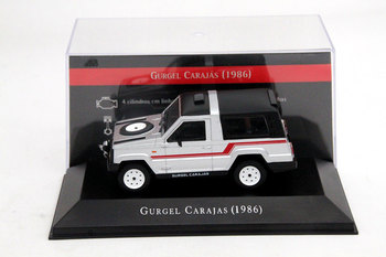 IXO 1:43 For Gurgel Carajas 1986 Auto Show Limited Edition Models Cars Collection Toys Diecast Auto Gift image