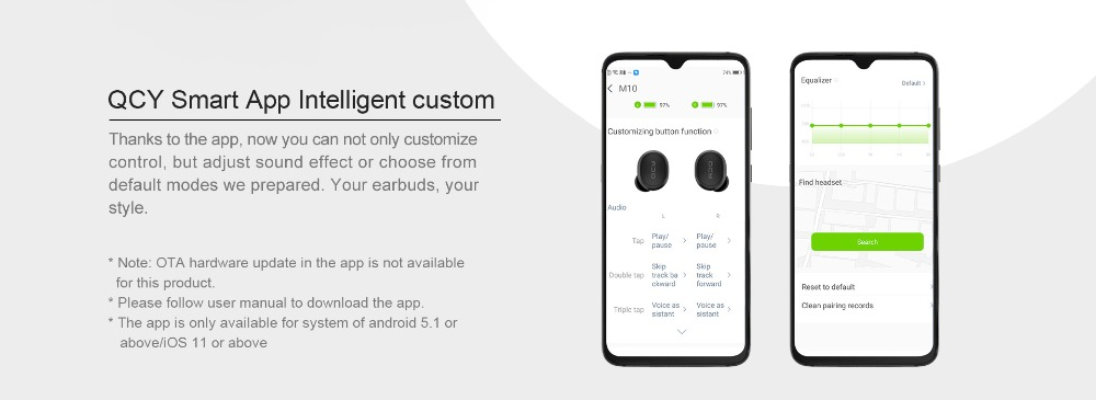 QCY M10 TWS Bluetooth V5.0 Wireless Earphones 7