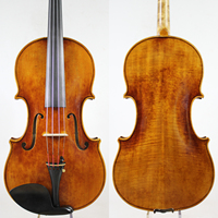 Barato ¡G B Guadagnini 1785 copia! 15,75 copia Viola, nivel profesional barniz de aceite antiguo arco de la caja madera europea ¡envío gratis!