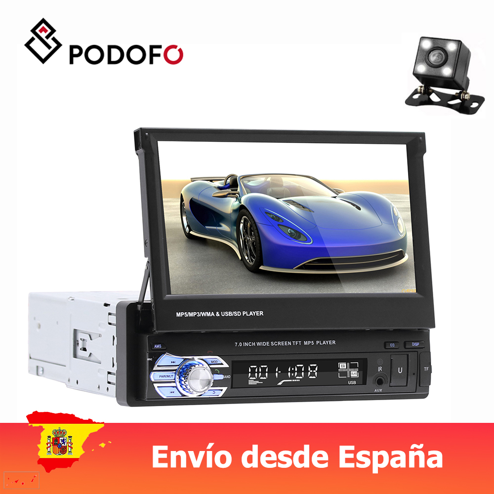 Podofo 1Din Car Audio 7