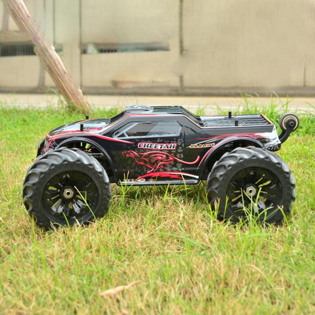 Jlb Racing 1:10 4WD Rc Borstelloze Monster Truck Off Road Voertuig Waterdichte Rc Auto Met Wheelie Functie Speelgoed Voor kid Rtr Versie - 4