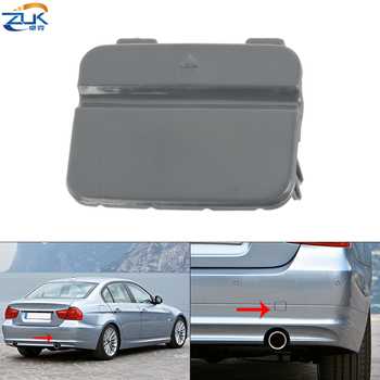 ZUK Rear Bumper Towing Hook Cover Cap For BMW E90 LCI 318 320 323 325 328 330 335 Year 2008 2009 2010 2011 2012 Base Color image