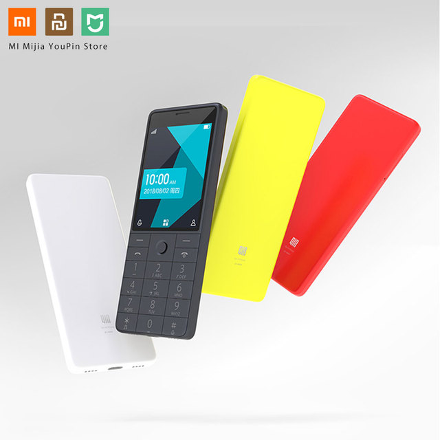 Xiaomi QIN 1S 4G Network Wifi 1480mAH BT 4.2 Voice Infrared Remote Control Dual SIM Card Feature Phone
