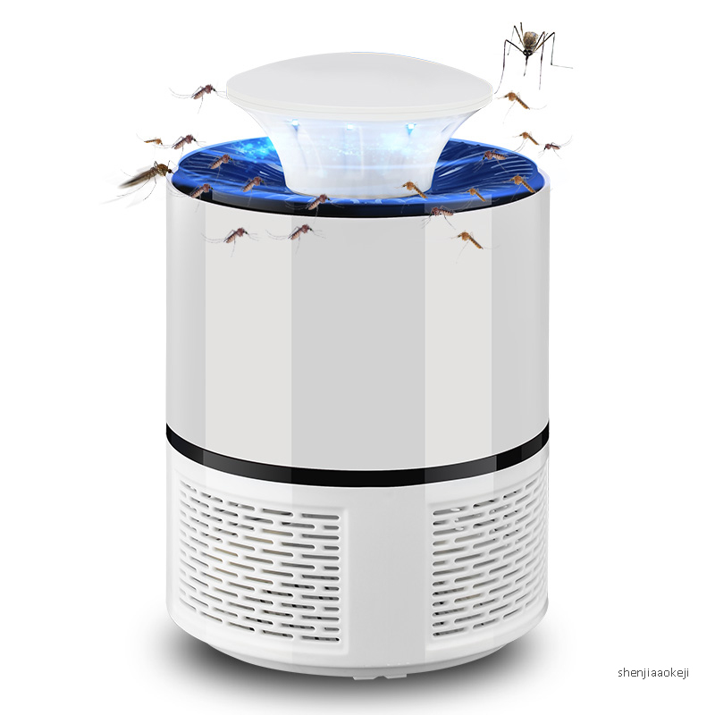 Electric Pure Physical Mosquito Killer Lamp Bug Insect Killer Lights Pest Repeller USB Anti-repellent Tool Anti-mosquito Device