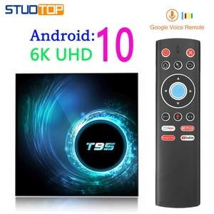 2020 latest T95 Android 10 IPTV TV BOX smart TV set-top box 6K 2G 4G 32G 64G 4K tv box mini media Player(China)