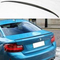 F22 m estilo de fibra de carbono auto carro traseiro tronco spoiler asa para bmw f22 2014-2016