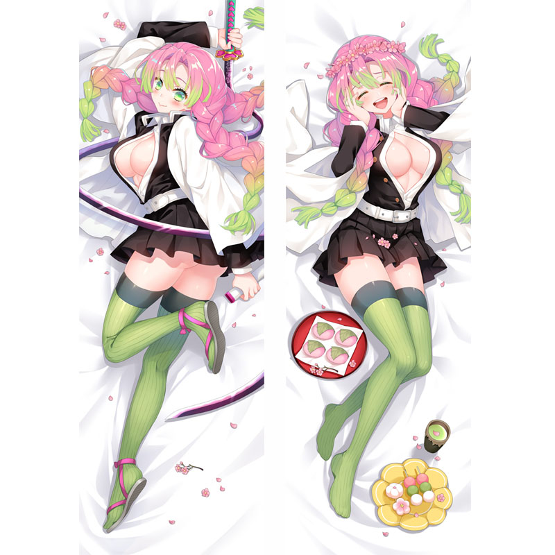 Demon Slayer Kimetsu No Yaiba Dakimakura Mitsuri Kanroji Hug Hugging Body Anime Manga Love Pillow Case Cushion Cover Otaku Gift Pillow Case Aliexpress Natsuki hanae, satomi satō (child) (japanese); demon slayer kimetsu no yaiba dakimakura mitsuri kanroji hug hugging body anime manga love pillow case cushion cover otaku gift