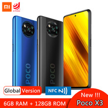 Global Version Xiaomi POCO X3 NFC Smartphone Snapdragon 732G 6.67'' Dotdisplay 64MP Quad Camera 5160mAh Battery 33W Fast Charge(Hong Kong,China)