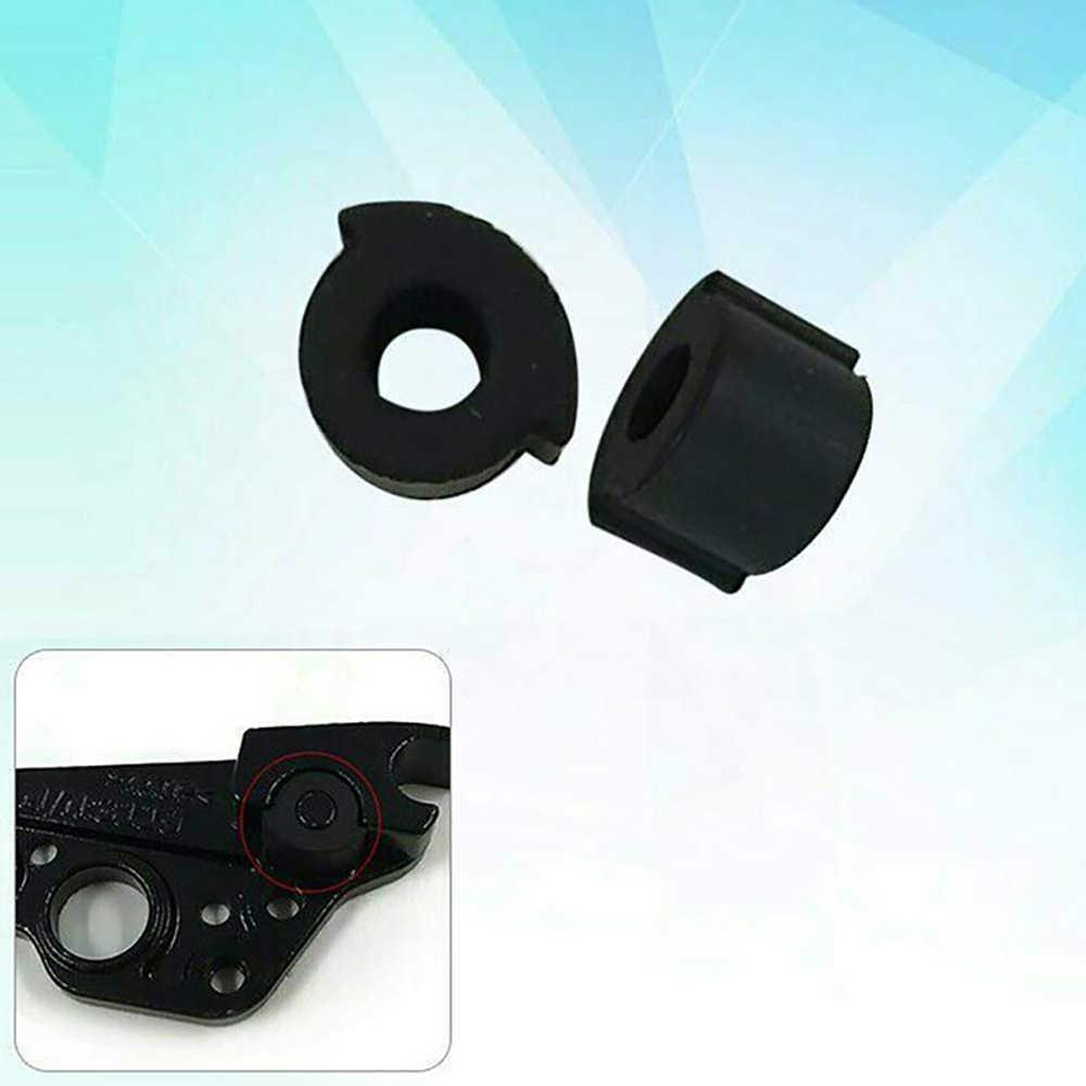 Almohadilla de silicona 2 uds. Para Ninebot ES1 ES2 ES4, accesorios para patinete, herramienta redonda a prueba de golpes, almohadilla protectora plegable para escúter eléctrico