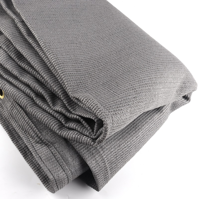 Custom Size 1pc 2.53x1.78m   1pc 2.55x1.6m And 2pcs 1.25x1m Gray Anti-UV HDPE Sunshade Net