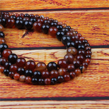 Dream Agate Natural Stone Bead Round Loose Spaced Beads 15 Inch Strand 4/6/8/10/12mm For Jewelry Making DIY Bracelet
