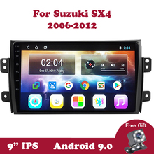 Android 9 Car Stereo Radio For Suzuki SX4 2006-2012 9 IPS Screen Navigation GPS 2 din DVD 2G+32G Autoradio Auto Multimedia
