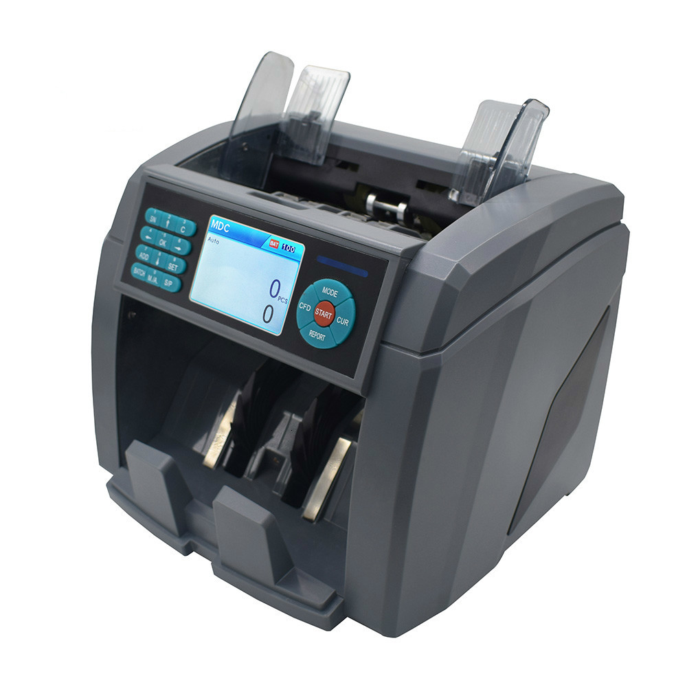 detector de dinheiro falsificado contador do valor da mistura 2 cis para 8 12 tipos moedas