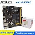 ASUS AM1I-B/K30BD/DP_MB мини 17*17 см AM1 ITX PC материнская плата в наличии с x4 5350 процессор оригинальный настольных материнских плат комплект