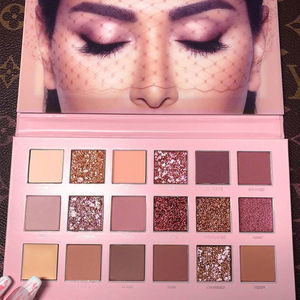 Image 4 - Beauty Eyeshadow Palette 18 Matte Shimmer Colors Long Lasting Perfect Mix Makeup Palette Powder Pink Shades Eye shadow Set