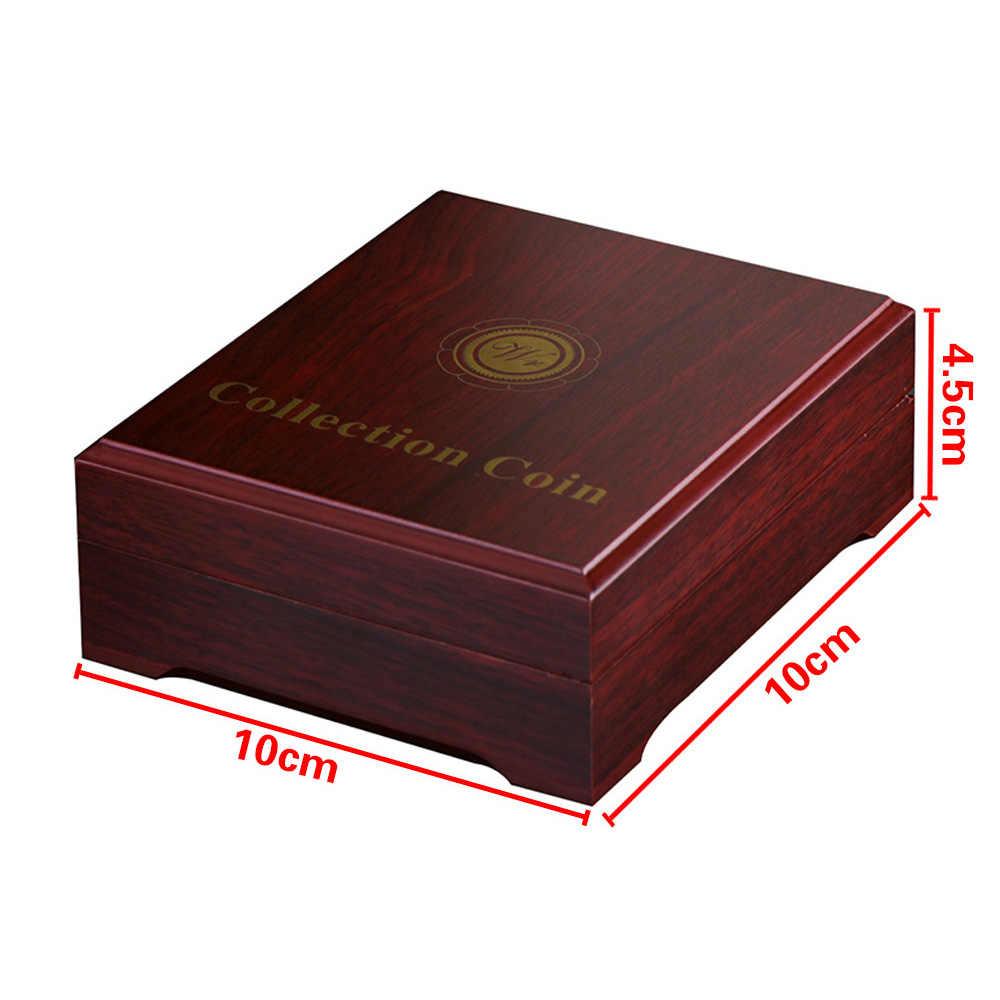 6 أنماط تحصيل عملات حامل عرض التحدي ميدالية عملة حافظة جامع مكتب الديكور هدية للرجال