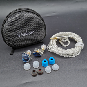 Image 5 - MMCX TD08 Hi Res Headphones HIFI Hybrid Earphone 1BA+1DD Earbuds Powerful Stereo Headset Custom Made DJ Monitor  Earphones