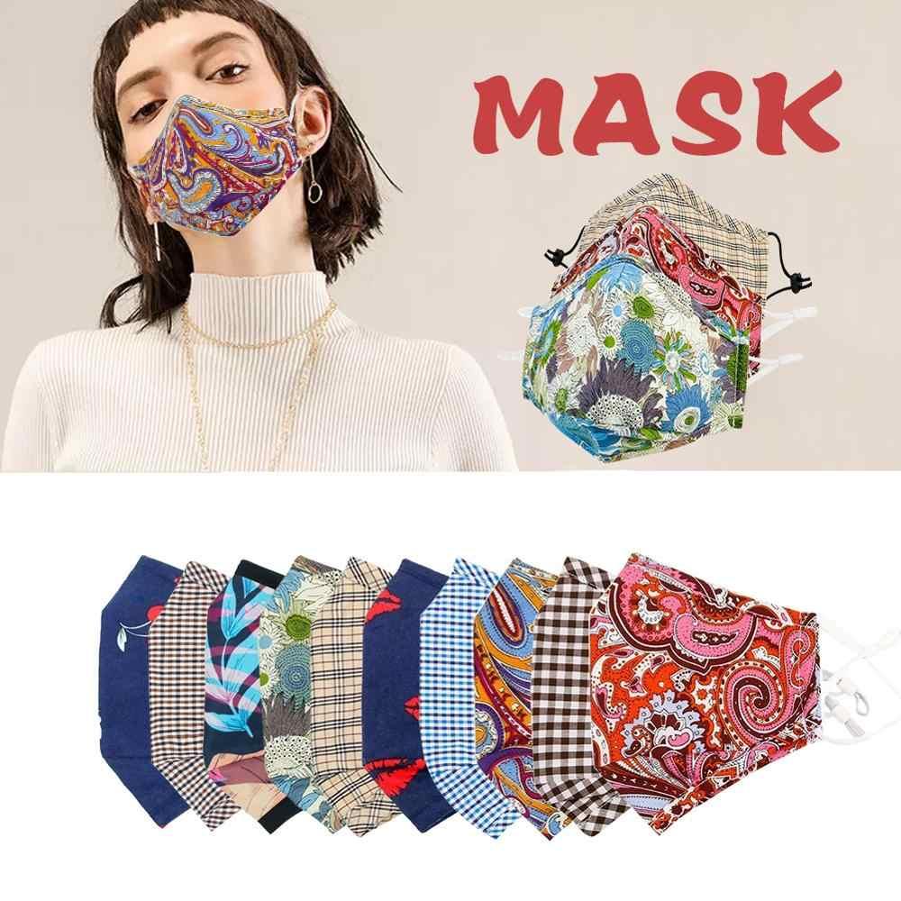 Occhiali di moda in bicicletta maschera antipolvere anti-inquinamento bocca maschere per il viso n99 n95PM2.5 filtro a carbone attivo anti-freddo multicolore di sport masker