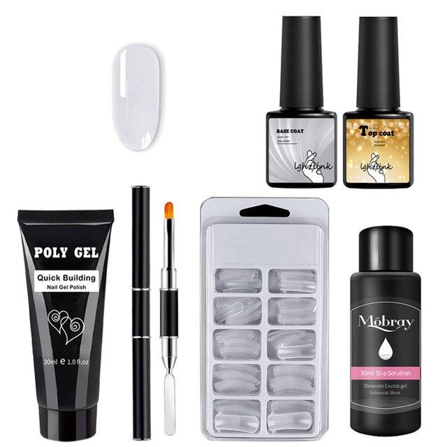 PolyGel Extention Nail Kit
