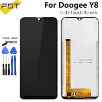 6.1''For Doogee Y8 LCD Display and Touch Screen Digitizer Assembly Repair Parts With Tools And Adhesive For Doogee Y8 Phone