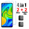 4in1 Protective Glass For Realme 7 Pro 5G 7i Camera Screen Protector For Realme 6 Pro 6s 6i C3 C21 5 Pro 5i 5S Tempered Glass