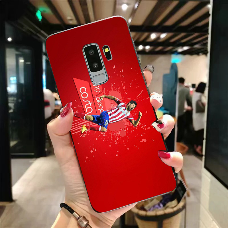 Yinuoda Phone Case For Costa Gimenez Galaxy J2 RIME J2Pro J4plus J6 2016 Black Soft TPU Case For Atlético Madrid FC A6 A7 A8 A9 in Half wrapped Cases from Cellphones Telecommunications