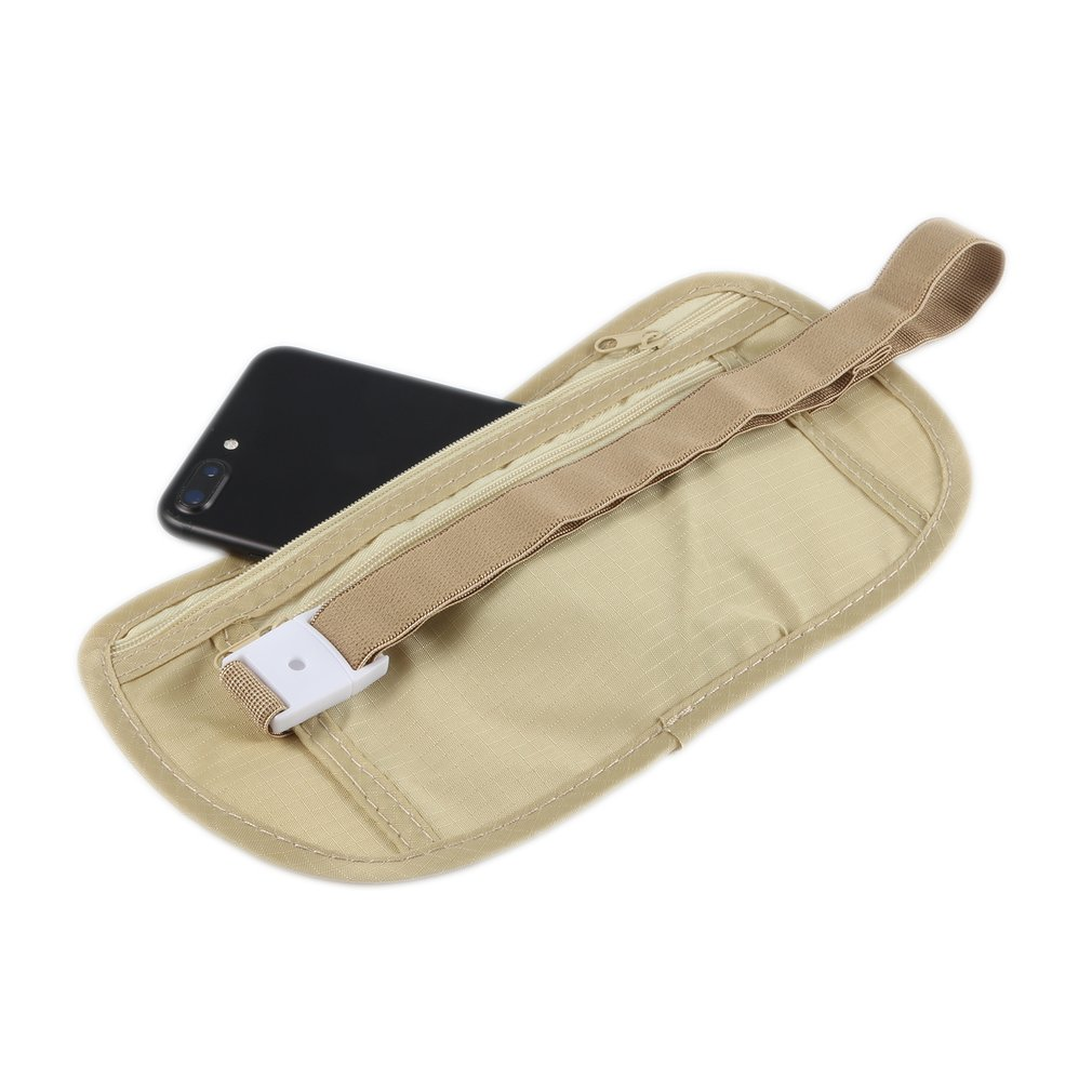 HOT Universal Slim Jogging Invisible Travel Waist Packs Waist Pouch For Passport Money Belt Bag Hidden Security Wallet Gifts